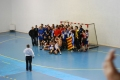 Celebración conjunta entre Salle y Creu Alta Sabadell tras su ascenso a Lliga