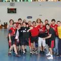 Primer equipo celebrando el ascenso matemático a Lliga Catalana tras perder contra Sababell y conocer el empate de Sant Vicenç contra Terrassa. El partido lo perdimos en el último segundo.
